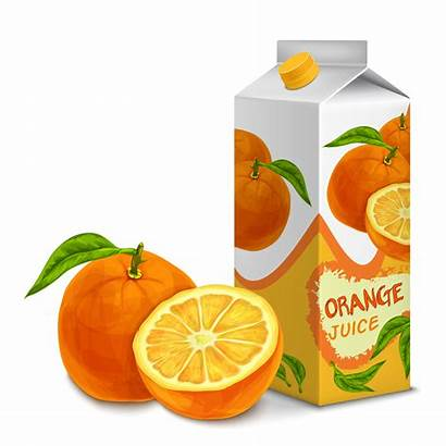 Juice Orange Vector Pack Clipart Premium Box