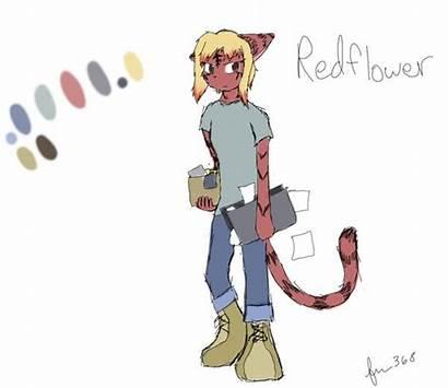 Redflower Reference Sheet Moonstruck Badger Deviantart