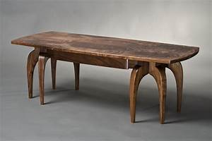octoped coffee table solid walnut wood coffee table With solid walnut wood coffee table
