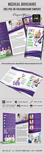 download medical free tri fold psd brochure template With medical tri fold brochure templates for free