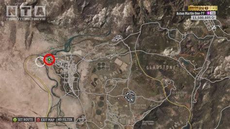 Forza Horizon Barn Finds Locations