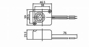 kps19 siren 110db 12v sirens micros With warble alarm siren