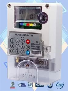 Limit Load Control Single Phase Watt Hour Meter Ip54 Prepaid Electricity Meters