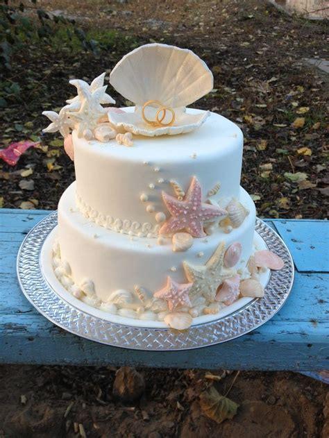 Best 25 Beach Wedding Cakes Ideas On Pinterest Beach