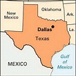 Dallas: location -- Kids Encyclopedia | Children's ...