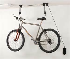 ceiling bike garage storage ideas to maximize unused space