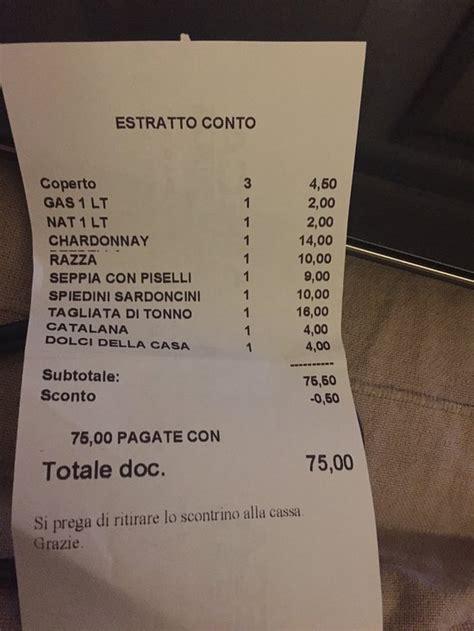 la lampara cesenatico ristorante recensioni numero