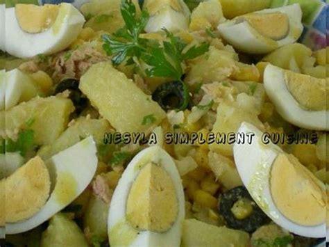 cuisine de pomme de terre les meilleures recettes de salade de pomme de terre