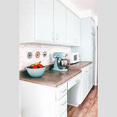 Diy Marble Contact Paper Backsplash  A Joyful Riot