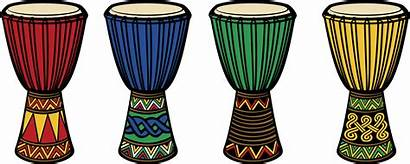Drum African Clipart Drums Djembe Bongo Drumming