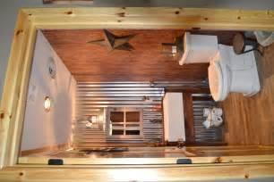 Country Themed Bathroom Decor