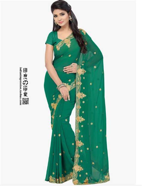 fashion classic style indian saree hand