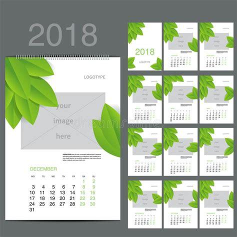 vector calendar planner month stock illustration