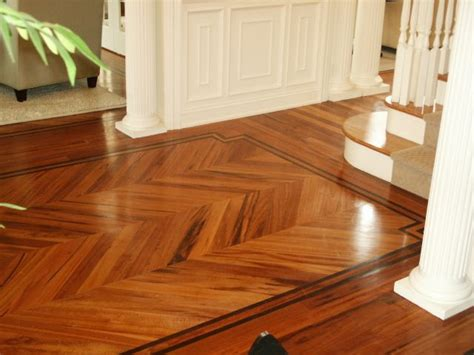tigerwood chevron home design pinterest woods floor
