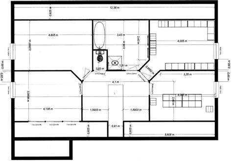 le plan d une maison maison moderne
