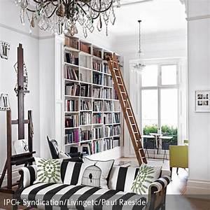 Bücherwand Mit Leiter : die besten 25 b cherregal mit leiter ideen auf pinterest ~ Markanthonyermac.com Haus und Dekorationen