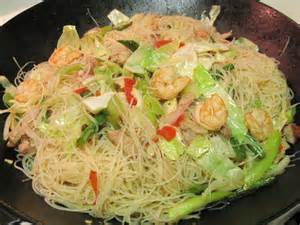 Rice Noodles Pancit Recipe Filipino