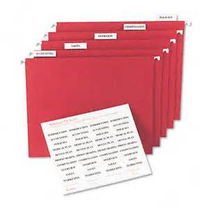 avery 174 printable inserts for hanging file folders 1 5 tab two inch white 100 pack ave11136