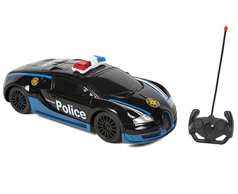 super racing   rtr electric rc police car