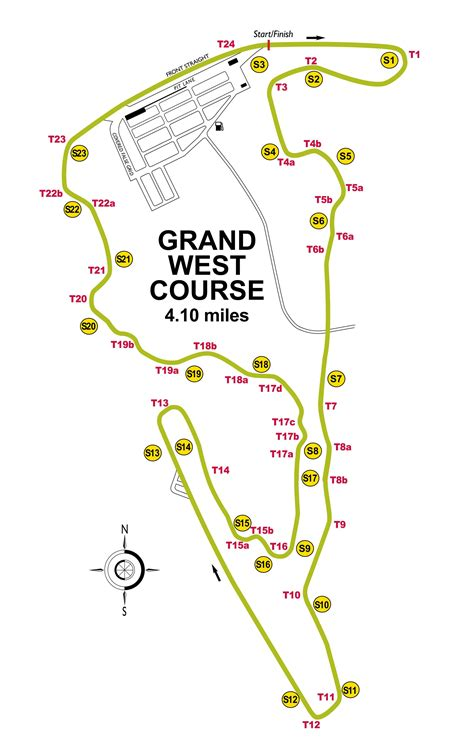 virginia international raceway grand east  post