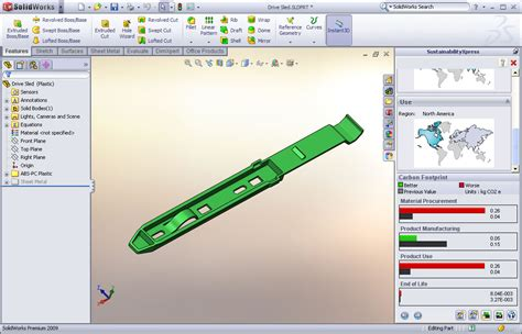 solidworks sustainabilityxpress