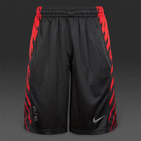 nike elite powerup shorts mens clothing blackred
