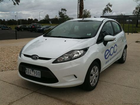 ford fiesta econetic australias  fuel efficient car