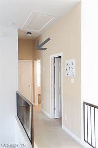 How To Replace Attic Cord With Hook And Pull Attic Stairs