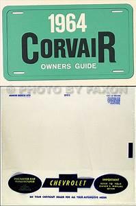 1964 Corvair Wiring Diagram Manual Reprint Car Monza 95
