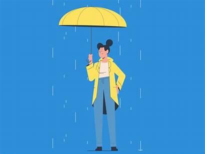 Rainy Animation Rain Disney Dribbble Motion Graphics