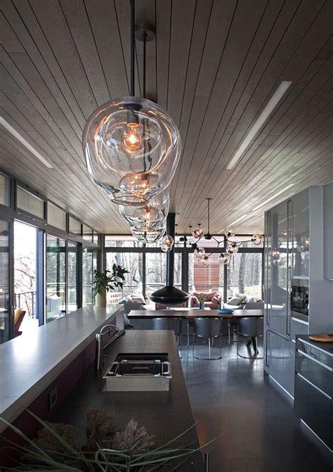 blown glass pendant lighting ideas   modern