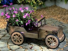 Garden Wooden Flower Planters