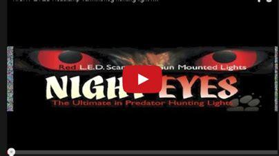 night light hunting supply gear review night eyes varmint hog hunting light