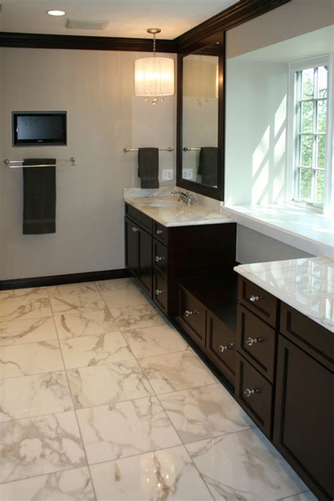 Marble Bathroom Flooring by The Philosophy Of Interior Design In With Tile