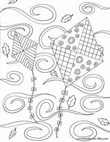 Coloring Kites Pages Fall Doodle Alley Kite Windy Printable Adult Colouring Sheets Easy Fly Colour Let Crayola Clouds Season Mediafire sketch template