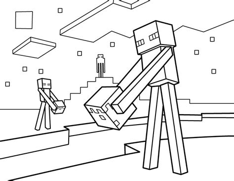 minecraft coloring pages printable minecraft coloring sheets