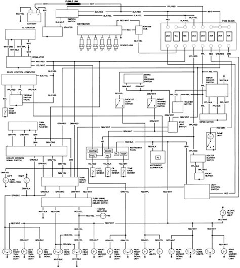 1980 Toyotum Truck Wiring Diagram by Repair Guides Wiring Diagrams Wiring Diagrams