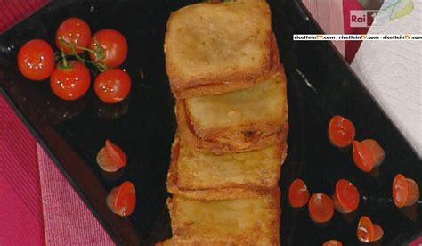 mozzarella in carrozza parodi la prova cuoco ricetta mozzarella in carrozza