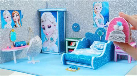 diy miniature dollhouse room diy miniature frozen