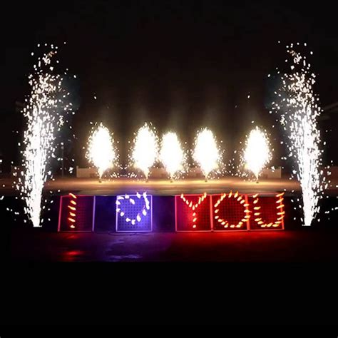 love  fireworks display board ytm fireworks