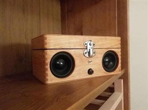 portable speaker   wooden box wooden boxes