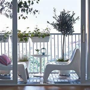 Plante Pour Appartement : d co balcon et terrasse d 39 appartement en ville ~ Zukunftsfamilie.com Idées de Décoration