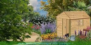 Cabane De Jardin D Occasion : plan cabane bois de jardin abri jardin bois cabanes outils cabane enfant ~ Teatrodelosmanantiales.com Idées de Décoration
