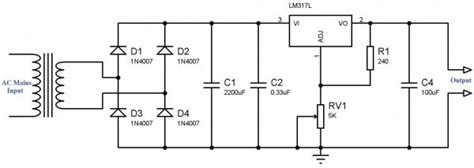 Variable Power Supply Using Voltage Regulator