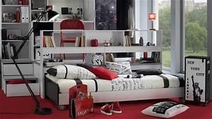 Décoration New York Chambre : 4 conseils d co pour une chambre d 39 ado ~ Melissatoandfro.com Idées de Décoration