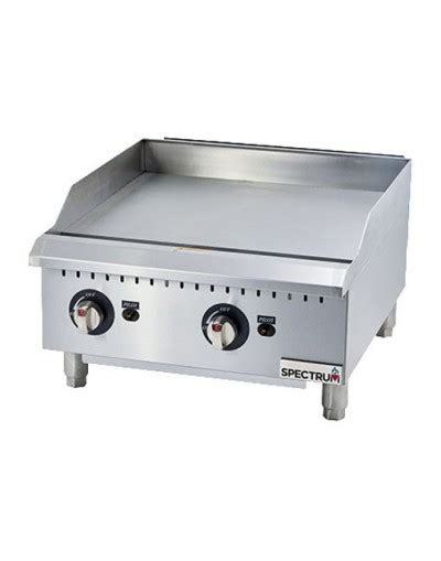 Countertop Griddle Gas - winco ggd series spectrum gas countertop griddle