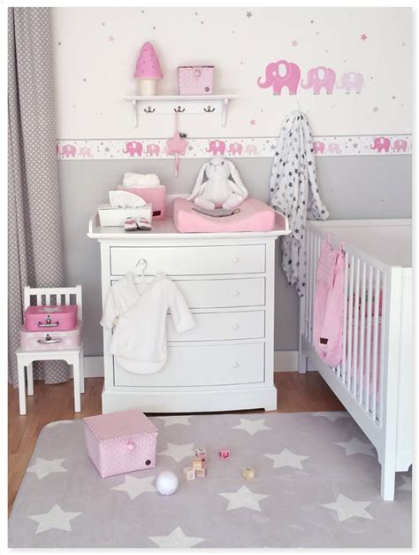 Grau Rosa Kinderzimmer by Babyzimmer Rosa Grau Interieur Eltorothetot