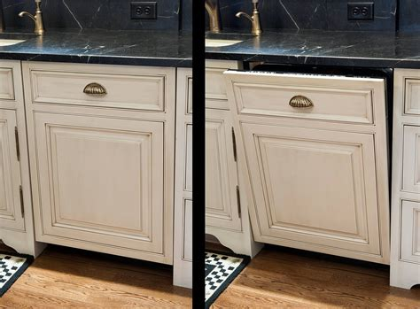 removing kitchen cabinets for dishwasher decorative dishwasher panel easy to custom make with any