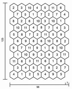 Boho Spell - Crochet Drops Blanket With Hexagons In  U201dkarisma U201d