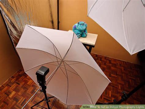 set  indoor photography lights  steps